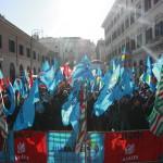 #contrattosubito manifestazione edilizia 18 dicembre