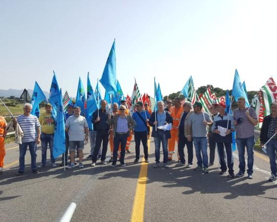 Protesta FenealFilcaFillea Olbia-SassariI