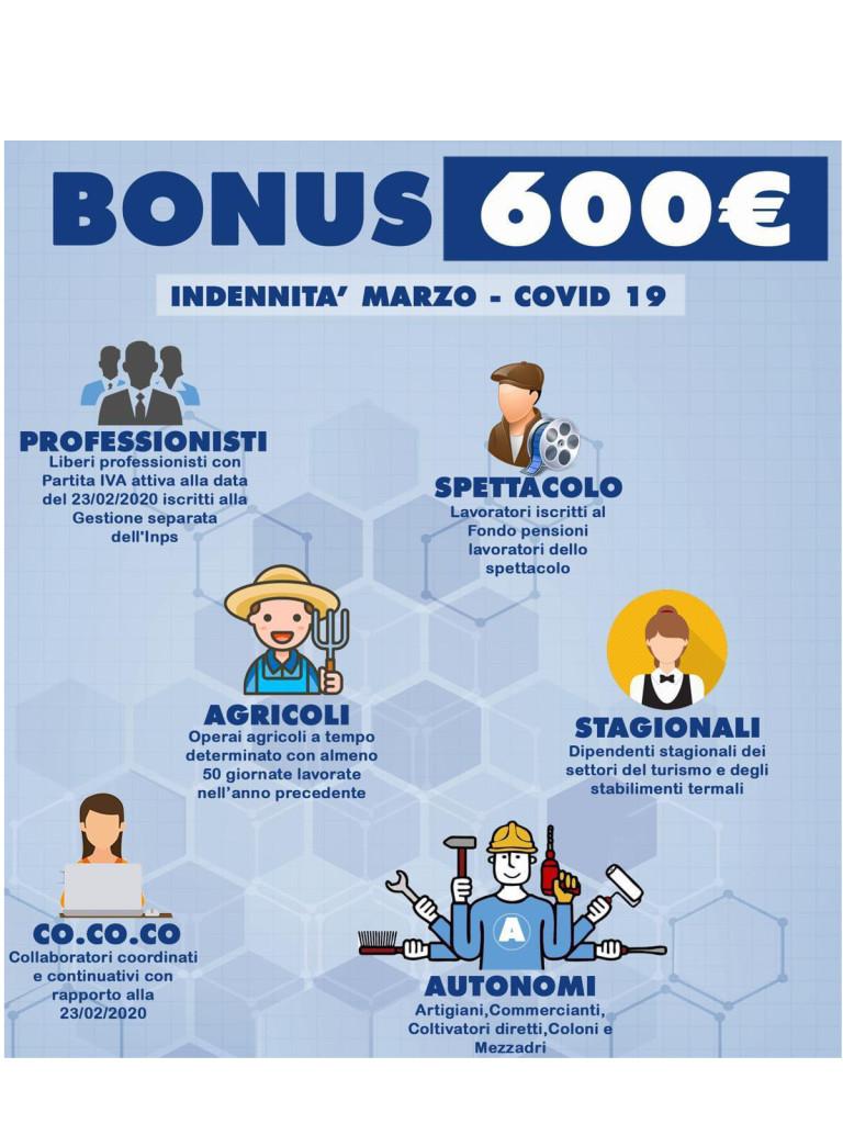 BONUS 600 PER SITO1