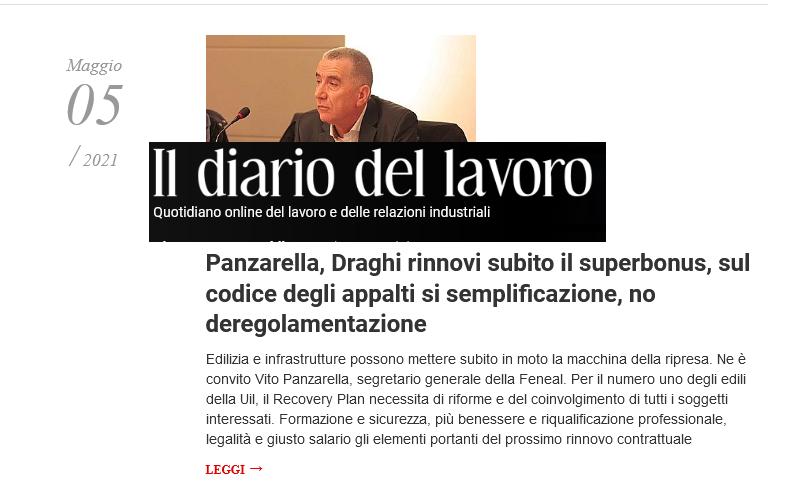 Screenshot_2021-05-06 Interviste Archivi - Il Diario del Lavoro